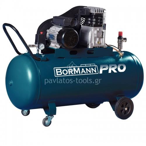 Αεροσυμπιεστής με ιμάντα Bormann 3hp 200lt BAT5090 035725