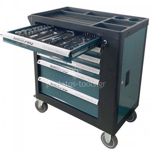 Εργαλειοφορέας με εργαλεία chrome-vanadium με 6 συρτάρια BWR7600SET 035794