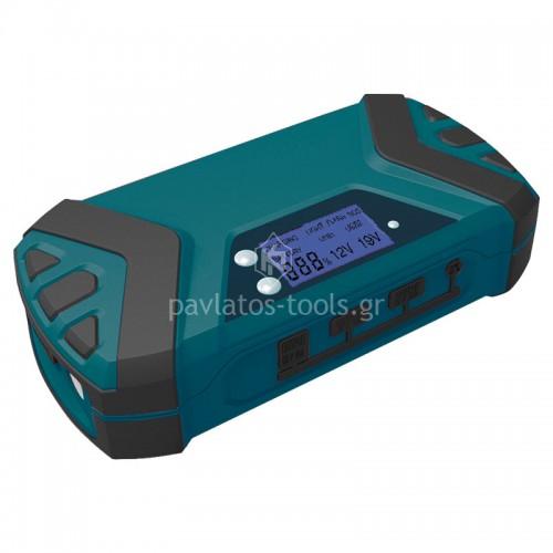 Εκκινητής Μπαταριών-power bank 12V 15000AH/600Α Bormann Pro BBC9010 037316