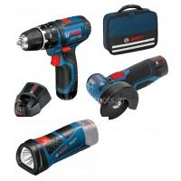 Σετ Bosch GWS 10,8-76 V-EC Professional+GSB 10,8-2-LI Professional 0615990H5G