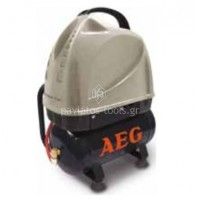 Αεροσυμπιεστής AEG χωρίς λάδι OL6/15  128121