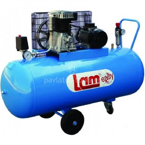 Αεροσυμπιεστής Lam μονοφασικός με ιμάντα 200ltr 3hp 200/3M/EASY