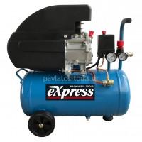 Αεροσυμπιεστής Express μονομπλόκ 24lt 2HP 40133