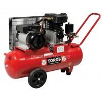 Αεροσυμπιεστής Toros μονοφασικός ZA65-50 50ltr 3hp 40147