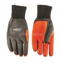 Γάντια βαμβακερά Neo tools με polyester και αντιολισθητικό latex 97-607  10   419597 157c868e16a