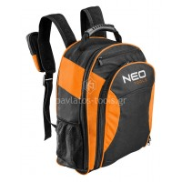 Τσάντα εργαλείων πλάτης Neo tools με 4+6 θήκες 84-307 427721