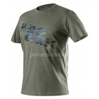 Μπλουζάκι εργασίας Neo tools λαδί 65-35% 245g/m2 432121-432169