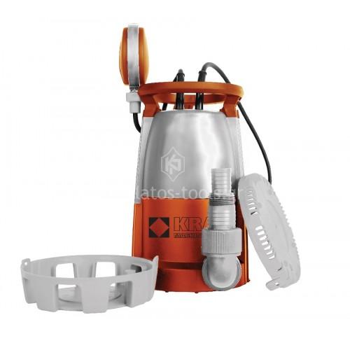 Υποβρύχια αντλία Ομβρίων & Ακάθαρτων υδάτων Kraft 750W MC 750E 43516