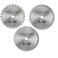 Σετ Δίσκων κοπής για Φαλτσοπρίονα EINHELL 250mm 3τμχ. 24/48/60ΔΟΝΤΙΑ 4502133