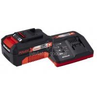 Σετ Einhell ταχυφορτιστής+μπαταρία 18 Volt 4.0Ah 4512042