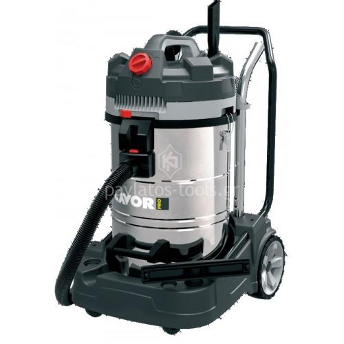 Επαγγελματική Σκούπα Lavor  με 3 μοτέρx1200 Watt Dozer 380 IR 45866