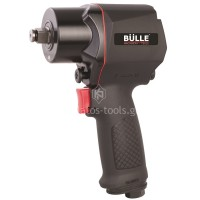 """Αερόκλειδο Bulle Professional (διπλό σφυρί) 1/2"""" μικρού μήκους 47845"""