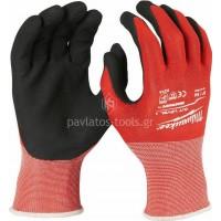 Γάντια εργασίας Milwaukee κρουστικά CUT LEVEL 1 4932471416-19