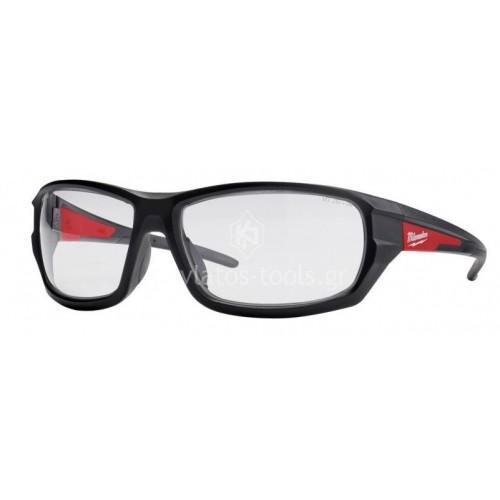 Γυαλιά ασφαλείας επιδόσεων διάφανα Milwaukee 4932471883