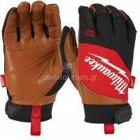 Γάντια εργασίας Milwaukee υβριδικά δερμάτινα 4932471912-15