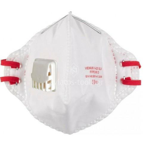 Mάσκα προστασίας Milwaukee 15 τεμαχίων FFP2 αναδιπλούμενη με βαλβίδα 4932478801