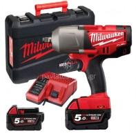 """Μπουλονόκλειδο υψηλής ροπής 1/2"""" Fuel Milwaukee  M18 CHIWF12-502X  4933448418"""