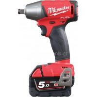 """Μπουλονόκλειδο 1/2""""  Milwaukee Fuel M18 FIWF12-502C 4933451257"""