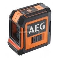 Αλφάδι lazer σταυρού AEG κόκκινης δέσμης CLR215-B 4935472252