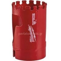 Αδαμάντινο Ποτηροτρύπανο Milwaukee χωρίς κρούση με υποδοχή 5/8x18 32mm 49565620