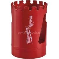 Αδαμάντινο Ποτηροτρύπανο Milwaukee χωρίς κρούση με υποδοχή 5/8x18 35mm 49565625