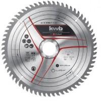 Δίσκος ξύλου KWB by Einhell TCT λεπτής κοπής 210x30 64 δόντια καρβιδίου 49587862