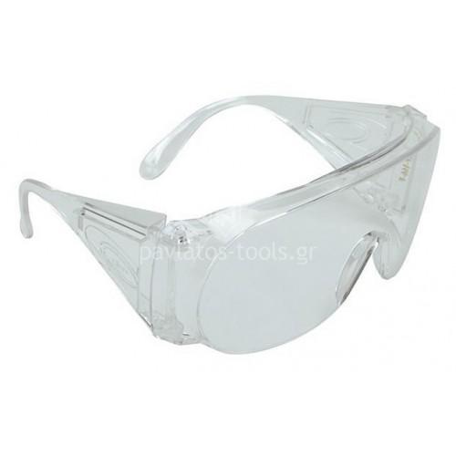 Γυαλιά εργασίας Climax διάφανο με τζάμι διάφανο πανοράμικ 580-I