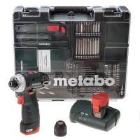 Δραπανοκατσάβιδο Μπαταρίας Metabo 10.8V PowerMaxx BS Basic Set κινητό συνεργείο  6.00080.88
