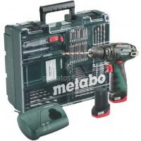 Δραπανοκατσάβιδο κρουστικό  Μπαταρίας Metabo 10.8V PowerMaxx SB Basic Set κινητό συνεργείο 6.00385.87