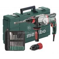 Πιστολέτο Περιστροφικό Metabo 800W με διπλό τσοκ 2 ταχυτήτων UHE 2660-2 QUICK Set 6.00697.51
