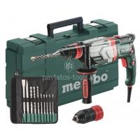 Πιστολέτο Περιστροφικό Metabo 1100W με διπλό τσοκ 2 ταχυτήτων UHEV 2860-2 QUICK Set  6.00713.51
