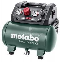 Αεροσυμπιεστής Metabo 6 ltr 0.9kW Basic 160-6 W OF 6.015010.00