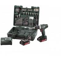 Δραπανοκατσάβιδο μπαταρίας 18V Metabo 2 ταχυτήτων  BS 18 LI Set Κινητό Συνεργείο 6.02116.54