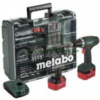 Δραπανοκατσάβιδο μπαταρίας 12V Metabo 2 ταχυτήτων BS 12 NiCd Set Κινητό Συνεργείο 6.02194.88