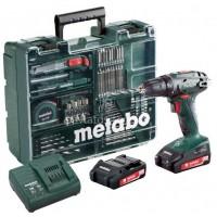 Δραπανοκατσάβιδο Μπαταρίας Metabo 18V 2 ταχυτήτων BS 18 Κινητό συνεργείο 6.02207.88