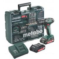Κρουστικό Δραπανοκατσάβιδο 18V Μπαταρίας Metabo 2 Ταχυτήτων SB 18 Set Κινητό Συνεργείο 6.02245.87