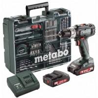 Κρουστικό Δραπανοκατσάβιδο Μπαταρίας Metabo 2 Ταχυτήτων 18V Li-on (2x2.0Ah) SB 18 L Set 6.02317.87
