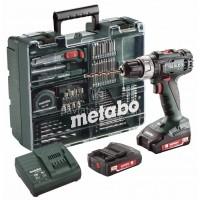 Δραπανοκατσάβιδο Μπαταρίας Metabo 2 Ταχυτήτων 18V Li-on (2x2.0Ah) BS 18 L Set 6.02321.87