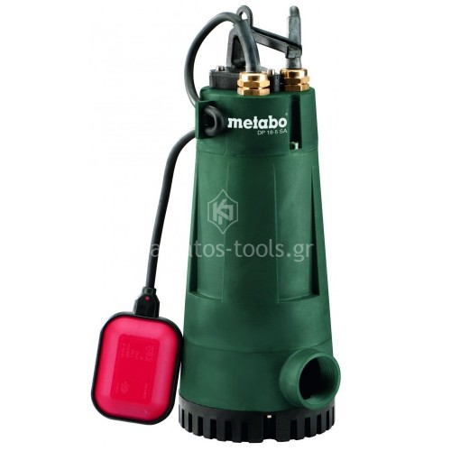 Βυθιζόμενη εργοταξιακή Αντλία λυμάτων Metabo 800 Watt DP 18-5 SA 6.04111.00