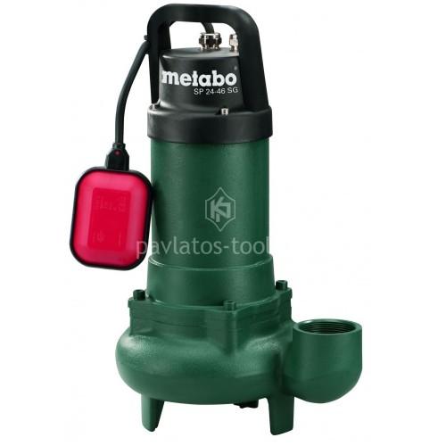 Βυθιζόμενη εργοταξιακή Αντλία λυμάτων Metabo 900 Watt SP 24-46 SG 6.04113.00