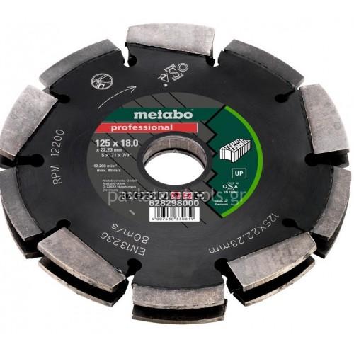 """Διαμαντόδισκος Metabo Professional """"UP"""" για αρμοκόφτες 6.28298.00"""