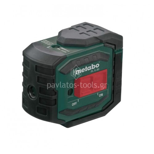 Αλφάδι laser 5 σημείων Metabo PL 5-30 606164000
