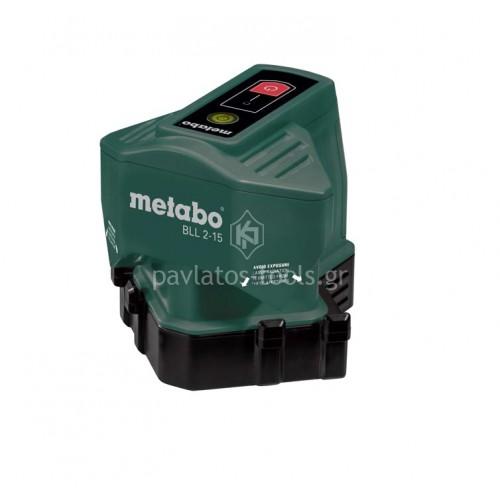 Αλφάδι laser 2 σημείων Metabo BLL 2-15 606165000