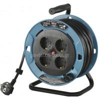 Μπαλαντέζα (καρούλι) ρεύματος Bulle 3x1.5mm 15 μέτρα 607016