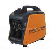 Γεννήτρια βενζίνης Inverter φορητή κλειστού τύπου Χαμηλού θορύβου Kraft 2000i 63769