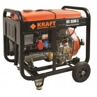 Γεννήτρια Πετρελαίου Kraft τριφασική WS 8500-3 63771