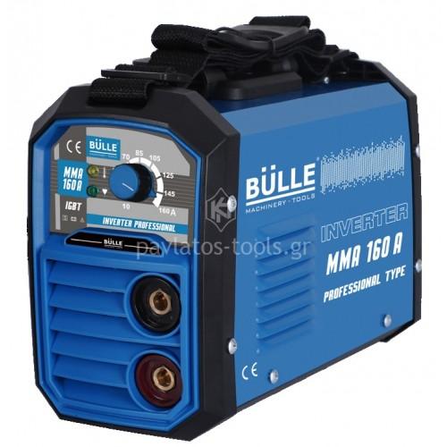 Ηλεκτροσυγκόλληση Bulle  Inverter PROFESSIONAL MMA 160K 160A 657001