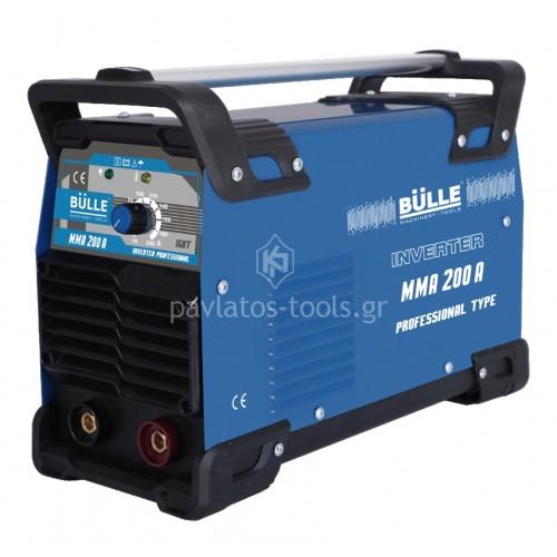 Ηλεκτροσυγκόλληση Bulle Inverter PROFESSIONAL MMA 215 200A 657002