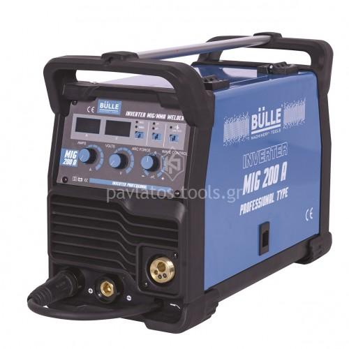 Ηλεκτροκόλληση Inverter Bulle σύρματος&ηλεκτροδίου MIG (&MMA) MIG 200A 657003