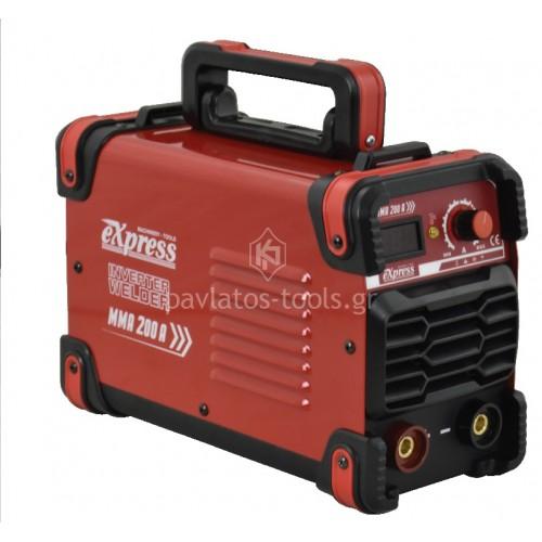 Ηλεκτροκόλληση Inverter Express (MMA) ηλεκτροδίου 200Α 657011